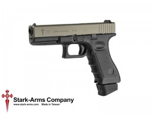 Stark Arms - replika G17 Combat Super Grade Co2 - Titanium