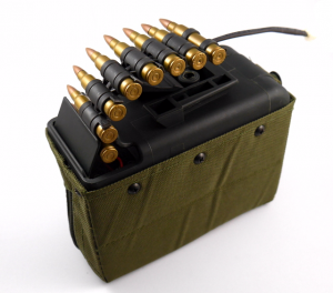Ares - magazynek box  do LMG  (1100 kulek)